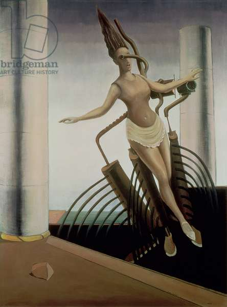 The Wavering Woman, 1923 (oil on canvas)