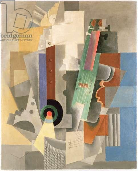 Still Life, 1912-13 (oil on canvas)