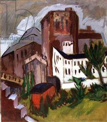 Towerblocks, c.1911 (oil on canvas)