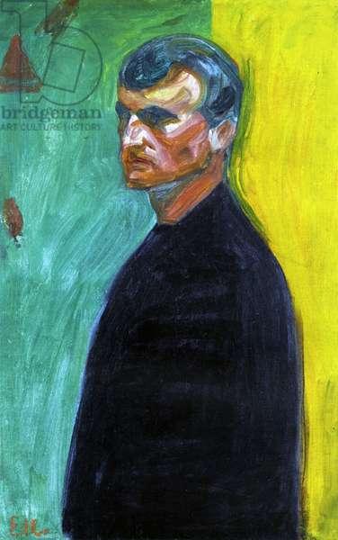 Self portrait, c.1904 (oil on canvas)