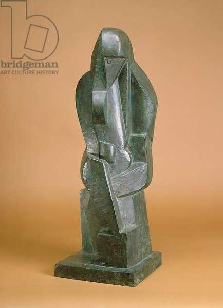 Seated Bather, c.1919 (bronze)