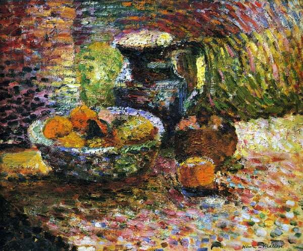 Still Life with a Bowl of Fruit, c.1898 (oil on canvas)