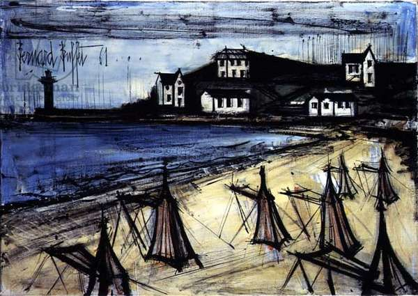 By the Sea, 1961 (oil on canvas)