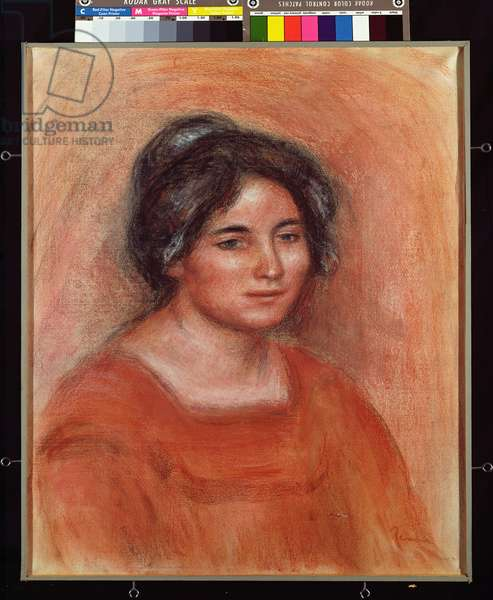 Gabrielle (pastel on paper)