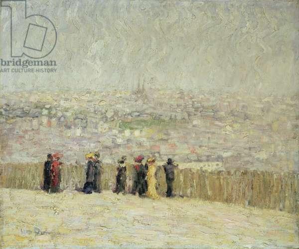 La Butte Chaumont, 1903 (oil on canvas)