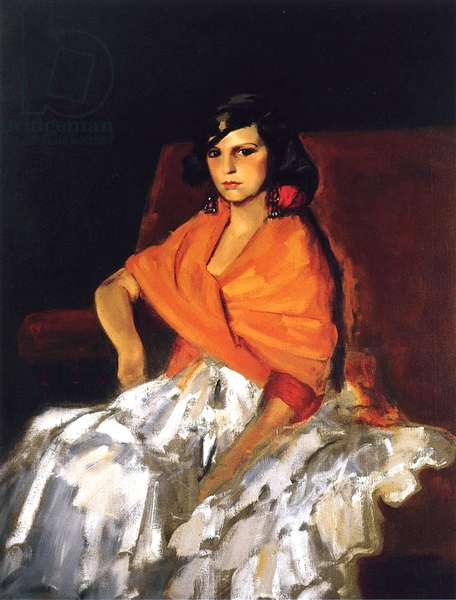 Dorita, 1923 (oil on canvas)