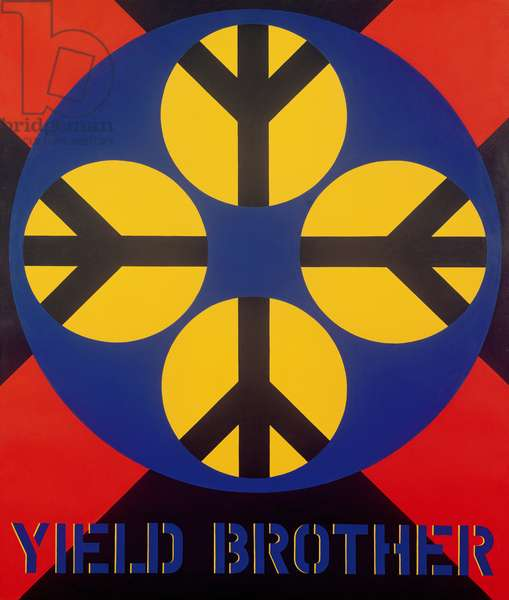 Yield Brother, 1963 (oil on canvas)