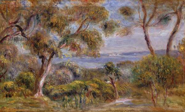 The Sea at Cagnes, c.1910 (oil on canvas)