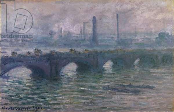 Waterloo Bridge, 1901