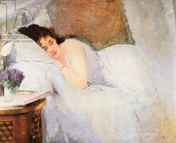 Woman Awakening, 1876 (oil on canvas)