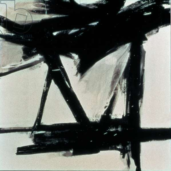 Ballantine, 1948-60 (oil on canvas)