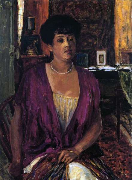 Madame Claude Anet, 1910 (oil on canvas)