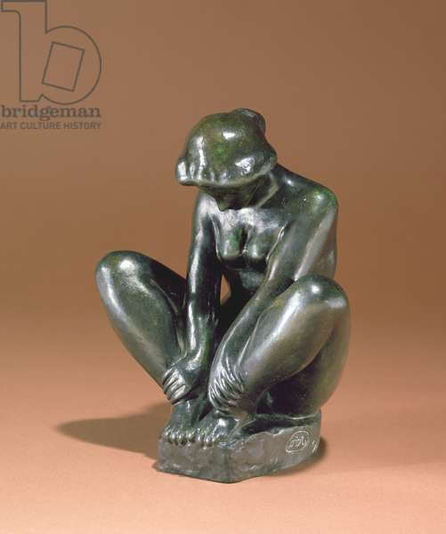Girl Holding Both Feet, 1920 (bronze)