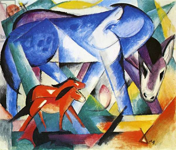 The First Animals, 1913 (tempera on paper)