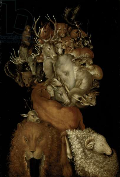 Earth, c.1570 (oil on panel)