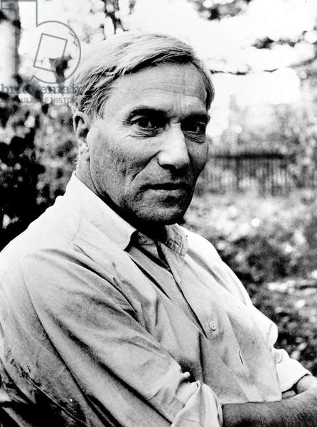 Boris Pasternak (1890-1960) (b/w photo)