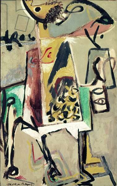 Don Quixote, 1944 (oil on canvas)