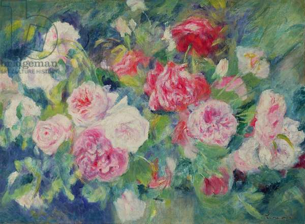 Roses, c.1885 (oil on canvas)