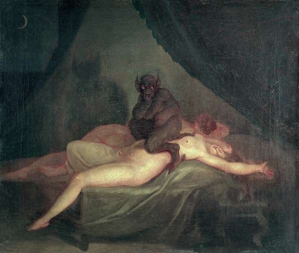 Nightmare, 1800 (oil on canvas)