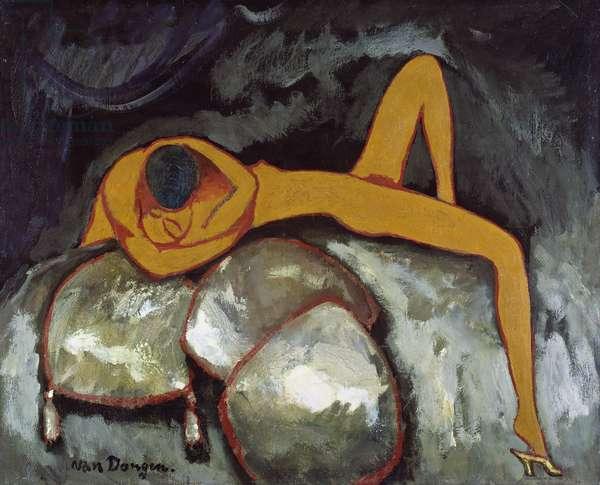 La Tranchee, c.1908 (oil on canvas)