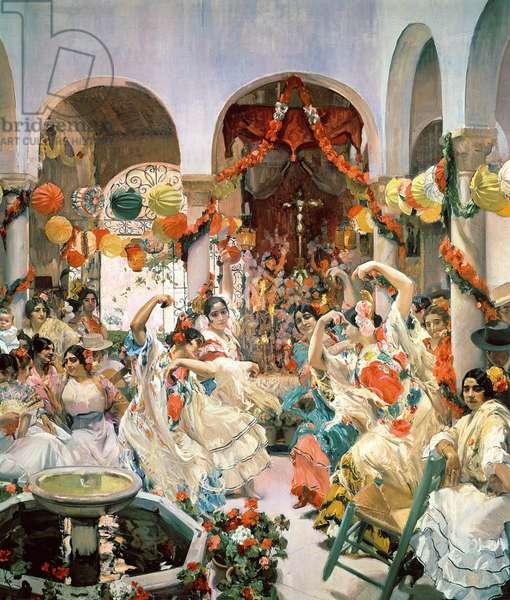 Seville (oil on canvas)