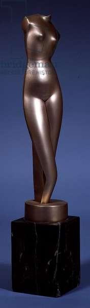 White Torso, c.1920 (polished bronze)