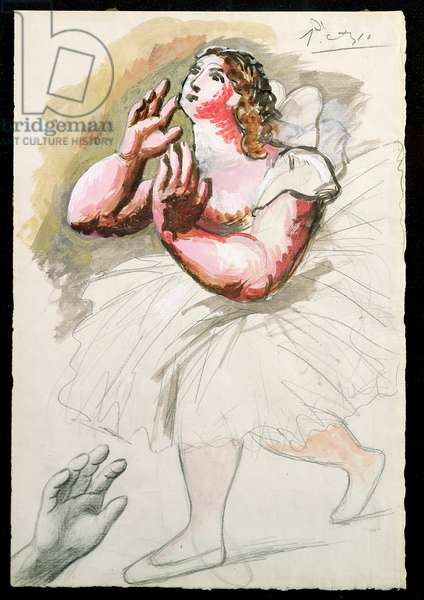 Ballerina, c.1919 (gouache on paper)