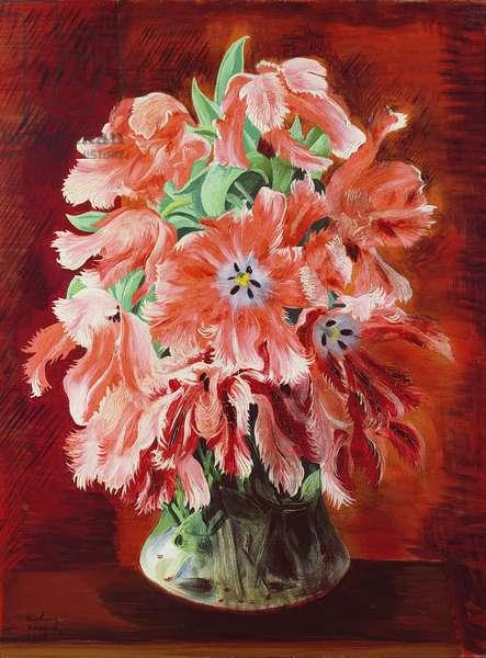 Tulips, 1948 (oil on canvas)