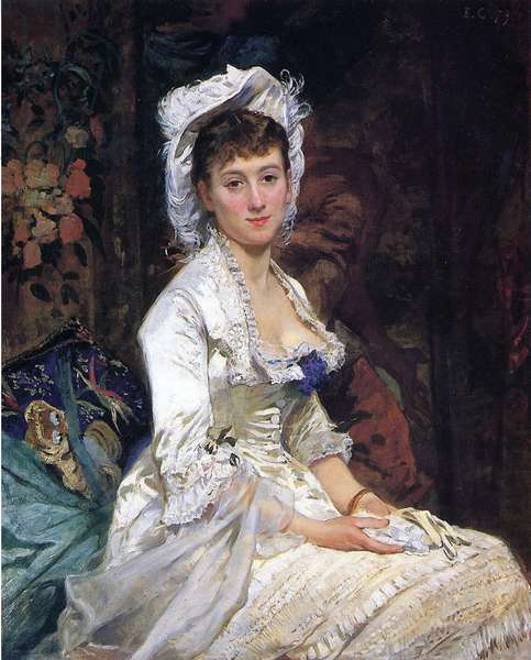 Woman in White, 1879 (oil on canvas)