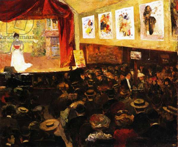 The Cafe-Concert, c.1904 (oil on canvas)