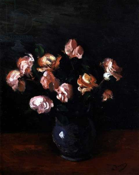 Roses, 1928 (oil on canvas)