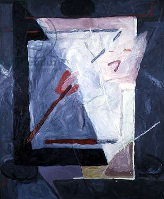 To John, 1977 (oil on canvas)
