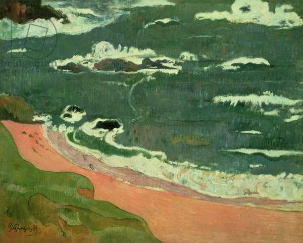 Beach at Le Pouldu, 1889 (oil on canvas)