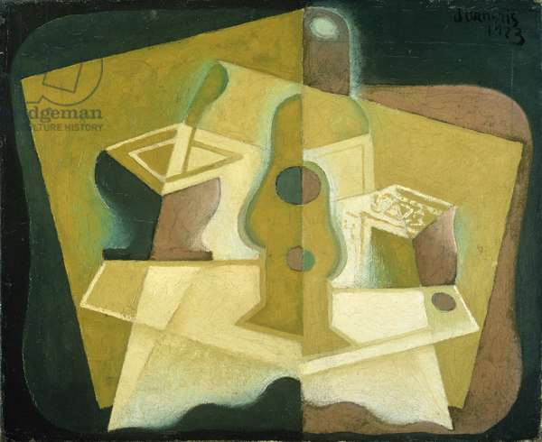 The Packet of Tobacco, c.1923 (oil on canvas)