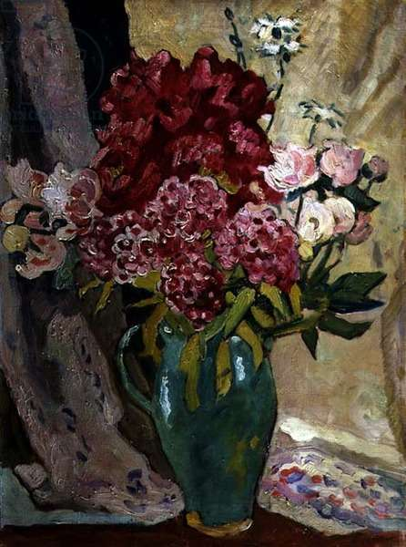 Large Bouquet of Flowers, 1936 (oil on canvas)