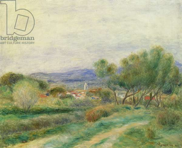 View of La Seyne, Provence, c.1890 (oil on canvas)