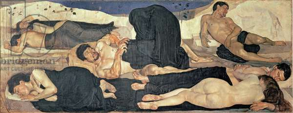 Night, 1890 (oil on canvas)