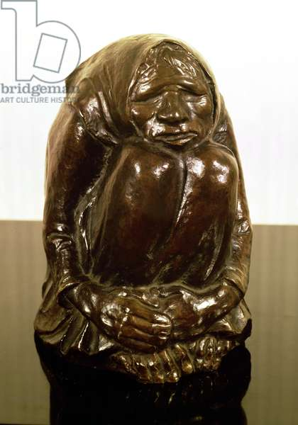 Shivering Old Woman, c.1937 (bronze)