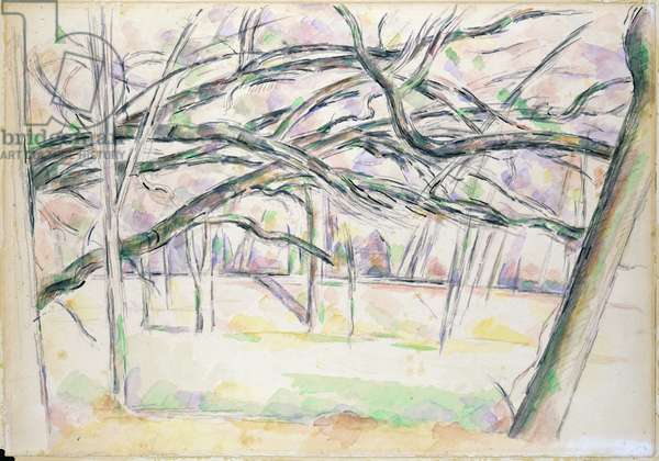 The Orchard, c.1895 (w/c on paper)