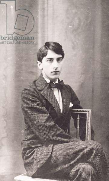 Jean Cocteau (1889-1963) (b/w photo)