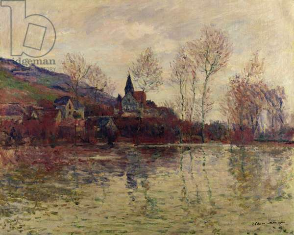 Floods at Giverny, 1886 (oil on canvas)