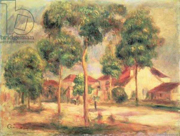 The Sunny Road, c.1895 (oil on canvas)