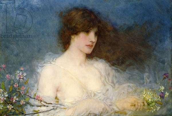 A Spring Idyll, 1901 (oil on canvas)