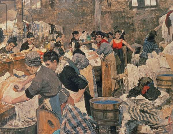 The French Laundry, 1889 (oil on canvas)