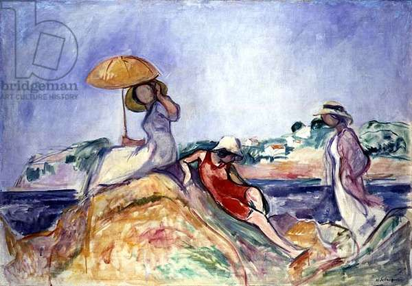 Women by the Sea, c.1910 (oil on canvas)