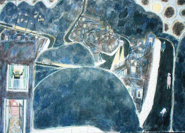 Landscape Painting, 1981 (oil on canvas)