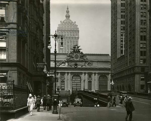 Grand Central Terminal, New York, USA, c.1920-38 (gelatin silver photo)