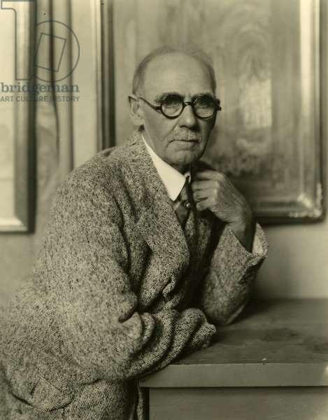 Colin Campbell Cooper artist, c.1905-31 (gelatin silver photo)