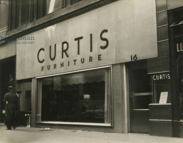 Curtis Furniture, New York, USA, c.1920-38 (gelatin silver photo)