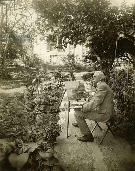 Harry Fenn, artist, c.1905-11 (gelatin silver photo)